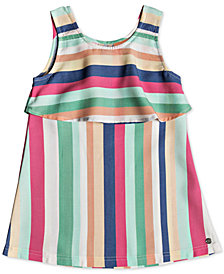 Roxy Little Girls Striped Tank Dress