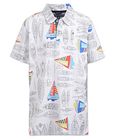 Tommy Hilfiger Little Boys Sailboat Polo