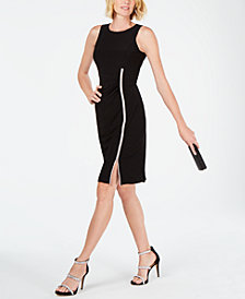 MSK Embellished Sheath Dress