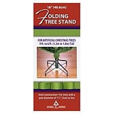 "National Tree 16"" Folding Tree Stand"
