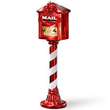 "National Tree 36"" Santa's Mailbox"