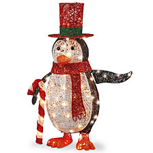 "National Tree Company 36"" Penguin with LED Lights"