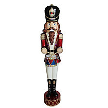 "National Tree 72"" Pre Lit Animated & Music Playing Nutcracker Decoration"