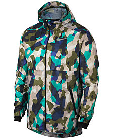 Nike Men's Ghost Camo-Print Running Jacket