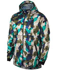 Nike Men's Ghost Camo-Print Running Jacket