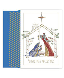 Masterpiece Studios Contemporary Manger Boxed Holiday Cards