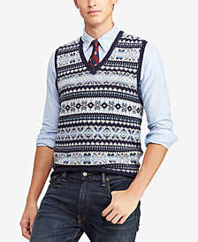 Polo Ralph Lauren Men's Fair Isle Sweater Vest