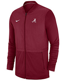 Nike Men's Alabama Crimson Tide Elite Hybrid Full-Zip Jacket