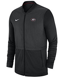 Nike Men's Georgia Bulldogs Elite Hybrid Full-Zip Jacket