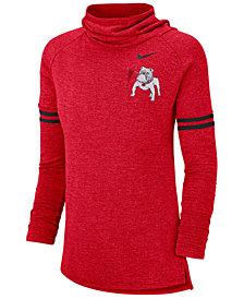 Nike Women's Georgia Bulldogs Funnel Neck Long Sleeve T-Shirt