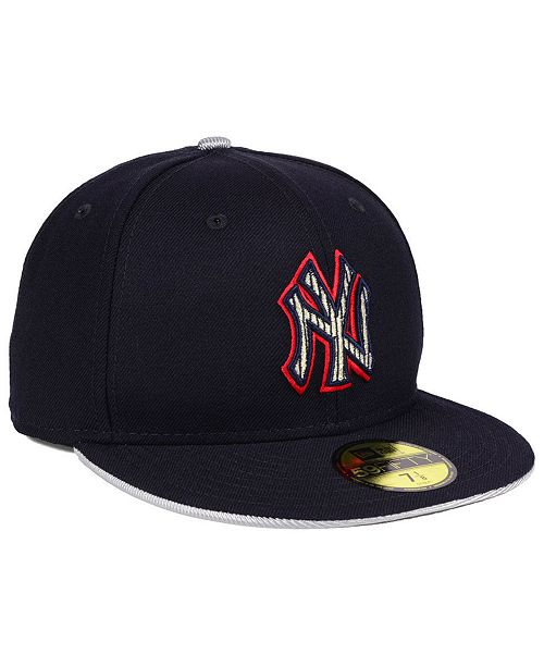 innovative design 9834c 2bf15 ... New Era New York Yankees Turn To The Future 59FIFTY Fitted Cap ...