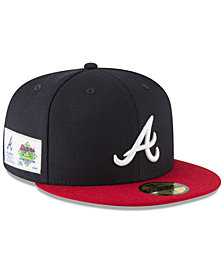 New Era Atlanta Braves Jersey Custom 59FIFTY Fitted Cap