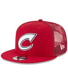 New Era Columbus Clippers Trucker 9FIFTY Snapback Cap