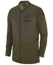 880257cee98 Nike Men s Philadelphia Eagles Salute To Service Elite Hybrid Jacket