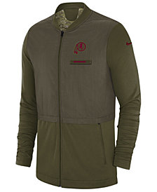 Nike Men's Washington Redskins Salute To Service Elite Hybrid Jacket