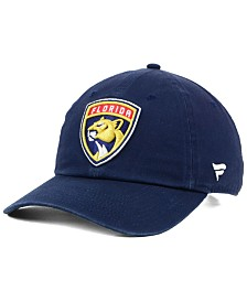 Authentic NHL Headwear Florida Panthers Fan Relaxed Adjustable Strapback Cap