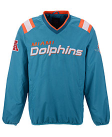 G-III Sports Men's Miami Dolphins Countback Pullover Jacket