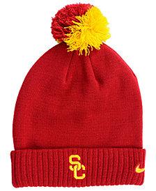 Nike USC Trojans Beanie Sideline Pom Hat