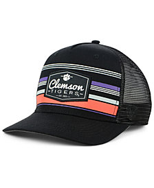 Top of the World Clemson Tigers Top Route Trucker Snapback Cap