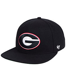 '47 Brand Georgia Bulldogs Core Fitted Cap