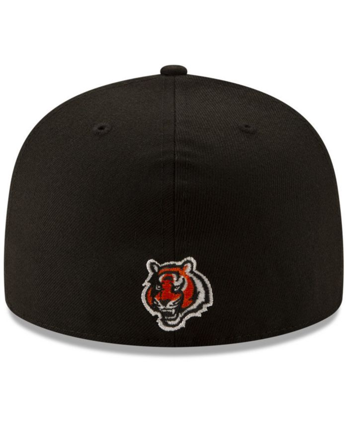 New Era Cincinnati Bengals Logo Elements Collection 59FIFTY FITTED Cap & Reviews - Sports Fan Shop By Lids - Men - Macy's