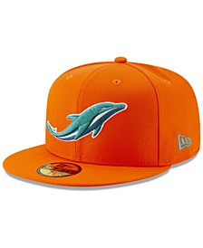 Miami Dolphins Logo Elements Collection 59FIFTY FITTED Cap
