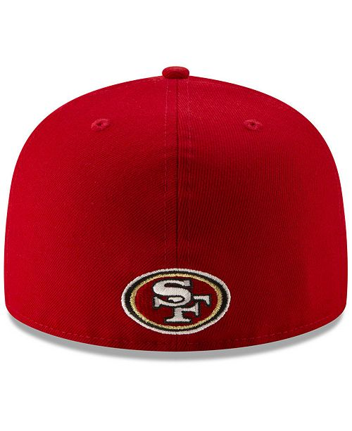 581443aa5 New Era San Francisco 49ers Logo Elements Collection 59FIFTY FITTED Cap ...