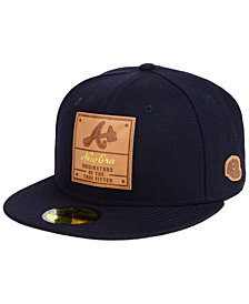 New Era Atlanta Braves Vintage Team Color 59FIFTY Fitted Cap