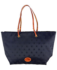 Dooney & Bourke Dallas Cowboys Embossed Nylon Addison Tote