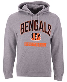 Authentic NFL Apparel Men's Cincinnati Bengals Gym Class Hoodie