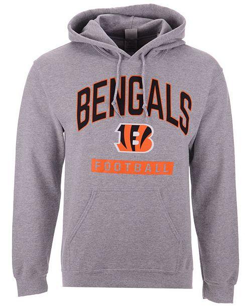 Authentic NFL Apparel Men s Cincinnati Bengals Gym Class Hoodie ... 842969b4fa33