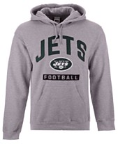 a943bff48 Authentic NFL Apparel Men s New York Jets Gym Class Hoodie