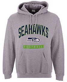 Authentic NFL Apparel Men's Seattle Seahawks Gym Class Hoodie