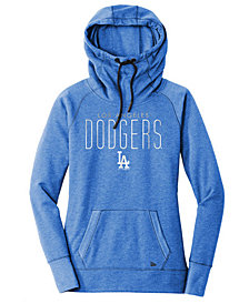 New Era Women's Los Angeles Dodgers Triblend Fleece Hooded Sweatshirt