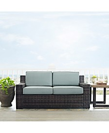 Beaufort Loveseat - Box 1 And Box 2 Kit With Mist Cushion
