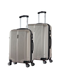 "InUSA San Francisco 2-Piece 22"" and 26"" Lightweight Hardside Spinner Set"