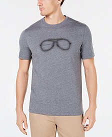 Michael Kors Men's Neon Aviator Graphic T-Shirt, Created for Macy's