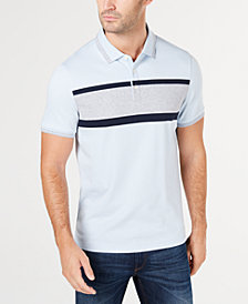 Michael Kors Men's Greenwich Regular-Fit Colorblocked Polo