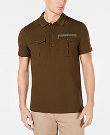 Michael Kors Men's Regular-Fit Stretch Piqué Polo