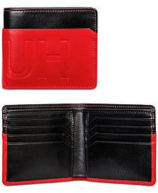 Hugo Boss Men's Hero Colorblocked Leather Wallet