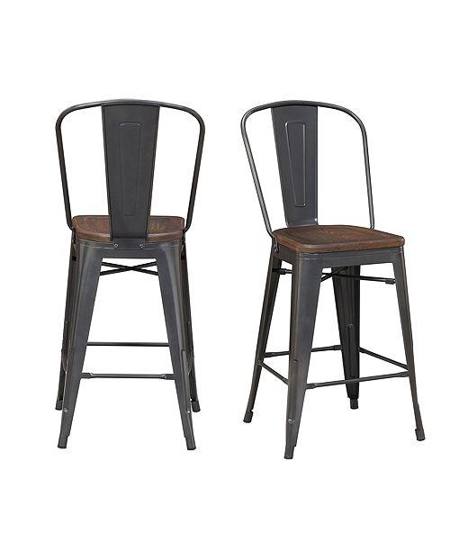 Picket House Furnishings Logan Bar Stool Set