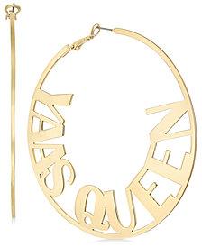 Thalia Sodi Gold-Tone Yas Queen Hoop Earrings, Created for Macy's