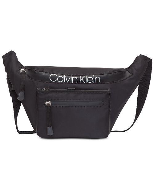 aa1eef0160 Calvin Klein Tabbie Belt Bag   Reviews - Handbags   Accessories - Macy s