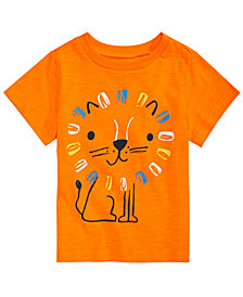 First Impressions Baby Boys Lion Graphic Cotton T-Shirt, Created for Macy's