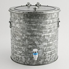 Galvanized 8 Quart Beverage Dispenser