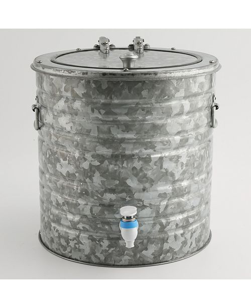 Thirstystone Galvanized 8 Quart Beverage Dispenser