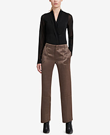 DKNY Straight-Leg Pants, Created for Macy's