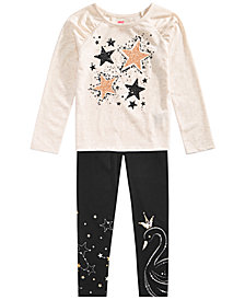 Epic Threads Toddler Girls Star T-Shirt & Border-Print Leggings, Created for Macy's