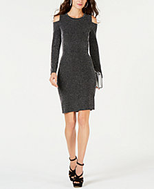 MICHAEL Michael Kors Cold Shoulder Sheath Dress
