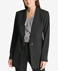 DKNY D-Ring Blazer, Created for Macy's